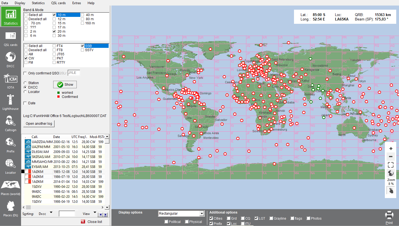 DXCC statistics World